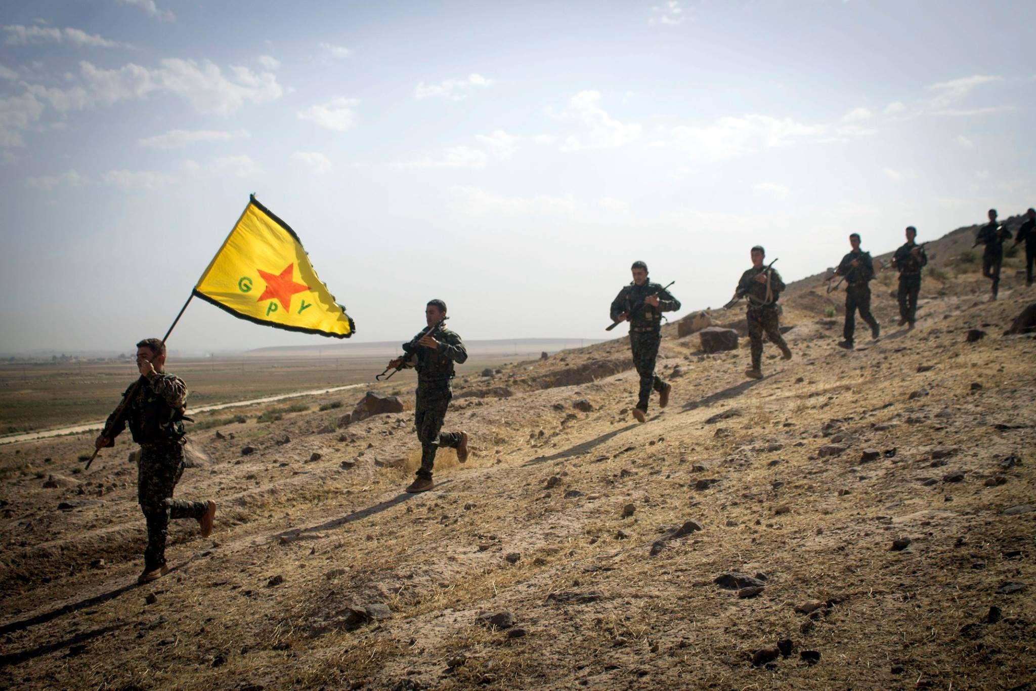 Syrien Kurden